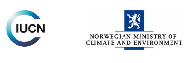 logos - IUCN - Norwegian Ministry of Climate and Environment