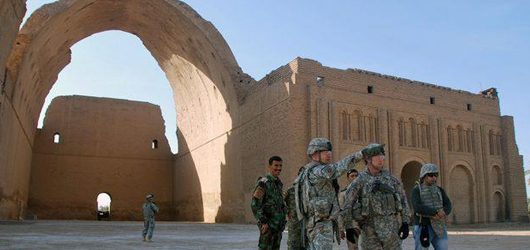 ALIPH to help Rescue the Arch of Ctesiphon