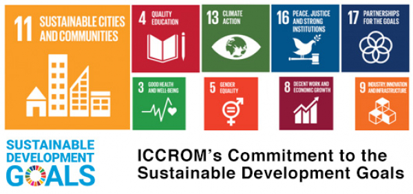 ICCROM's Commitment to the Sustainable Development Goals
