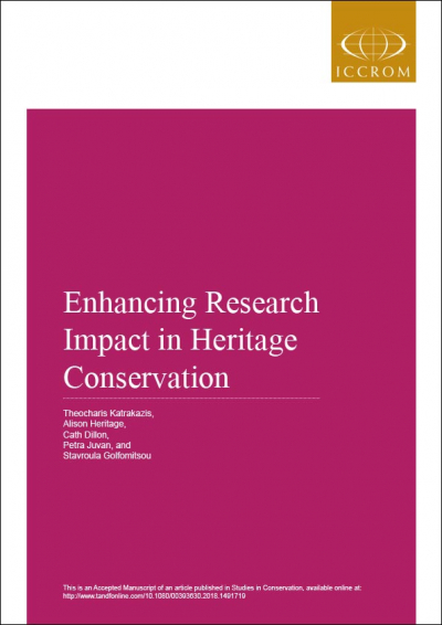 Enhancing Research Impact in Heritage Conservation
