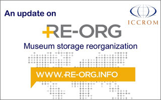An Update on RE-ORG: Museum Storage Reorganization