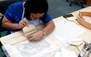 International Course on Conservation of Japanese Paper