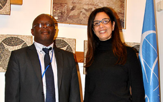 Mrs Gihane Zaki, Director of the Egyptian Academy in Rome