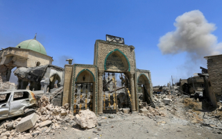 Destroyed Mosque Al Nouri