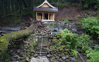 Earthquake as Heritage – examples from Japan