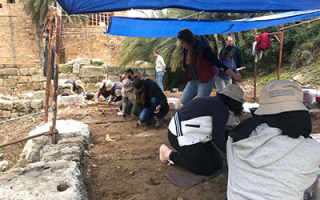 Completion of training course in Byblos for the conservation of mosaics in situ