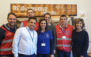 ICCROM Explores New EU Disaster Response Partnerships