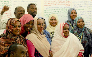 Workshops on Education and Museum Management, Western Sudan