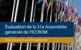 ICCROM's 31st General Assembly evaluation report