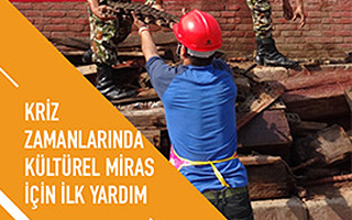 ICCROM's pioneering resource on First Aid to Cultural Heritage now in Turkish