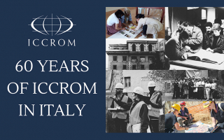Sixty years of ICCROM in Italy