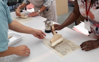 International Course on Paper Conservation in Latin America. Meeting East