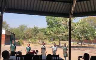Embedded thumbnail for What is Heritage? - A poem written and performed by students at the Lupani School
