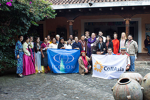 CollAsia International Course on Conservation of Textiles and Costumes