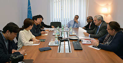 visit of Korean delegation form CHA at ICCROM