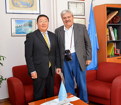 Visit of the Ambassador of Mongolia