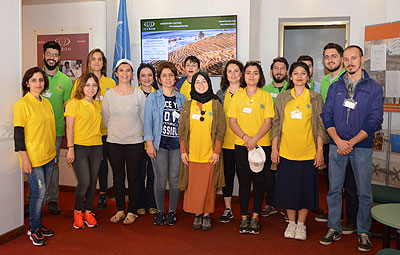 A group of students from Istanbul University visited ICCROM