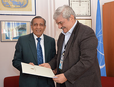 The Director-General received the visit of the Ambassador of Sri Lanka