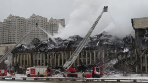 Fire at the Institute of Scientific Information on Social Sciences - Russian Federation