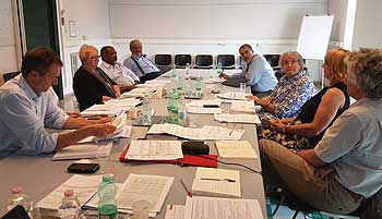 Donors meeting for the World Heritage Leadership Programme