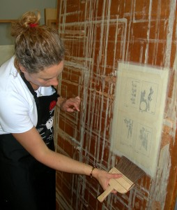 Conservation of Japanese Paper course (JPC)