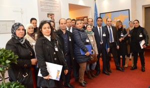 A group of officials from Tunisia visited ICCROM