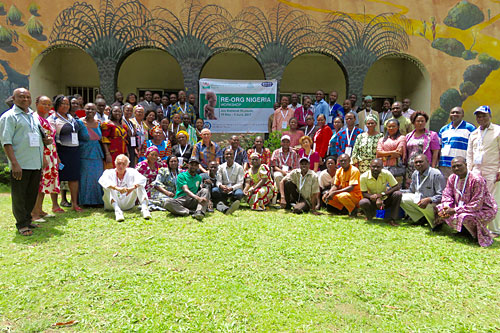 RE-ORG Nigeria in action at the Jos Museum