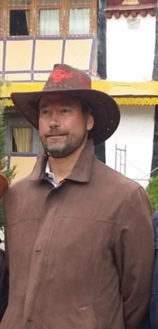 Ron on 27 April 2015 in Lhasa.