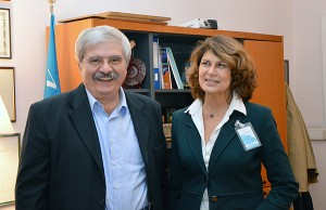 Silvia Costa, Member of the European Parliament visited ICCROM