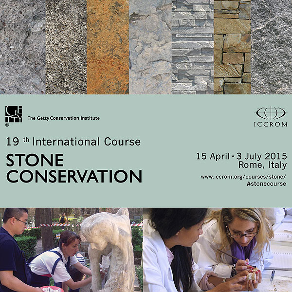 poster for the 2015 stone course