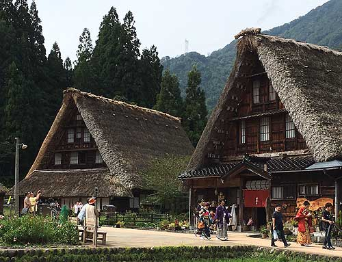 Wooden structures in Japan