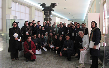 Training workshop on preventive conservation held in Teheran